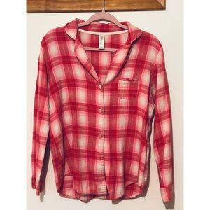FOREVER 21 - Pink Flannel